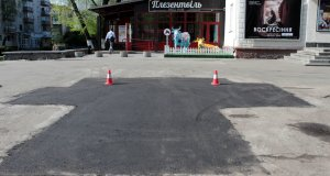 Ремонт дорог по-житомирски (фотофакт)