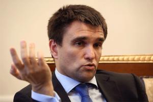 Министр ИнДел Павел Климкин, что-то тоже считает, но разобрать этого никто не может