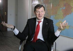 Олег Ляшко, ранее судимый, вор и мошенник;