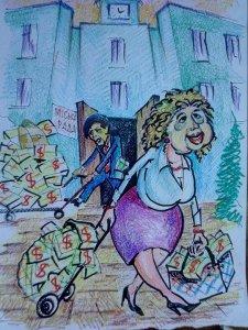 """Чиж и Сухомлин: """"Бюджет отмывается - мечты сбываются"""""""