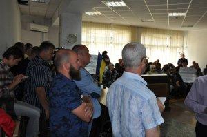 Общественность, международные правозащитники и простые граждане пришли поддержать узника совести Василия Муравицкого