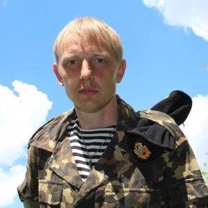 Воин-доброволец Евгений Кузнецов