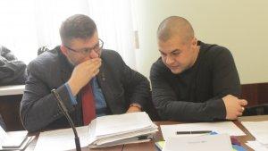 Защита Муравицкого: адвокаты Андрей Доманский и Андрей Гожый