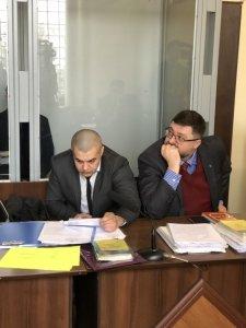 адвокаты Андрей Гожый и Андрей Доманский